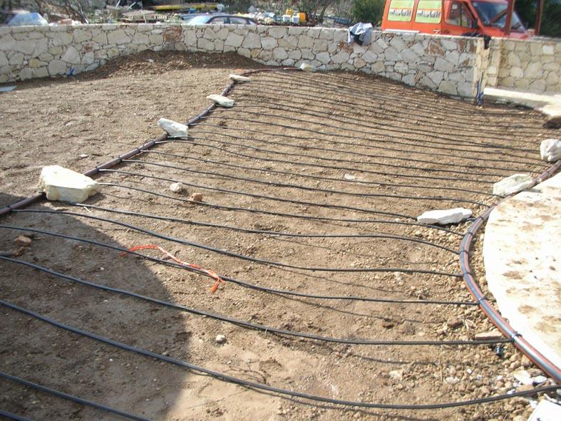 Rasen Bewässerungssystem gartenprojekte